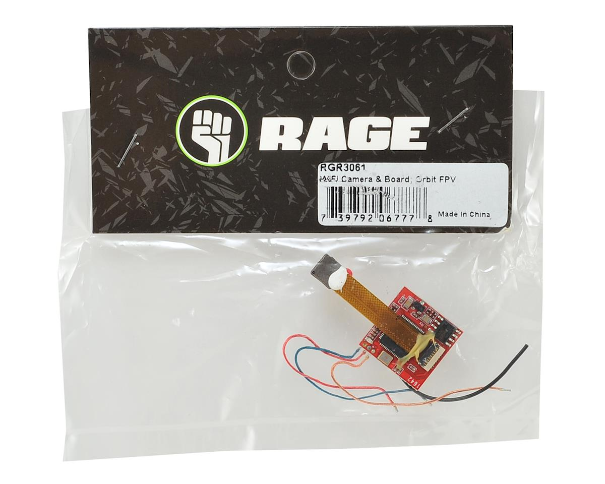 RAGE Orbit WiFi Camera & Board