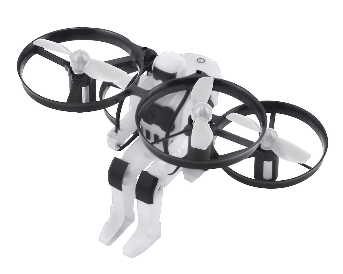 Jetpack Commander RTF Electric Quadcopter Drone (White) by RAGE