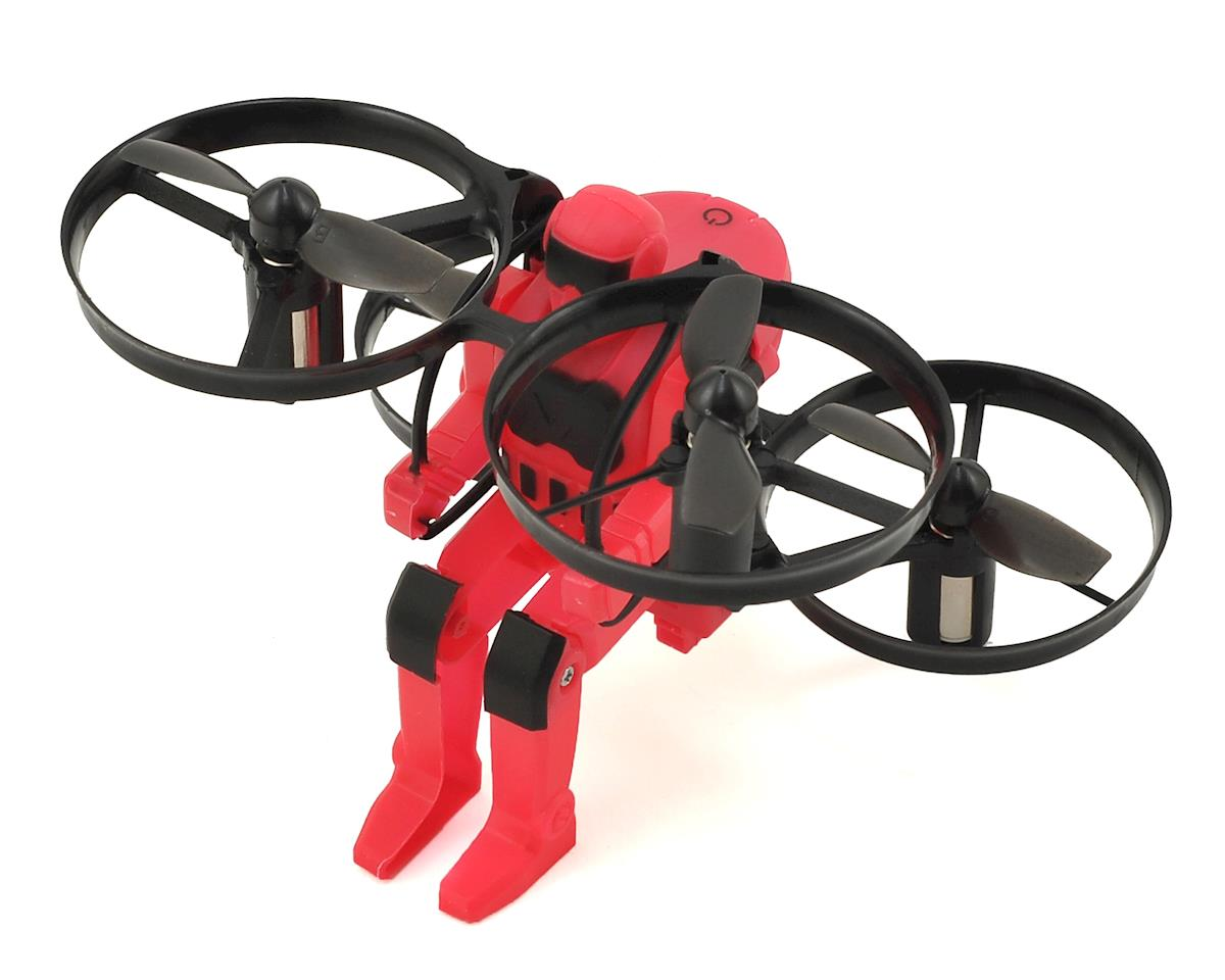 Jetpack Commander RTF Electric Quadcopter Drone (Red)