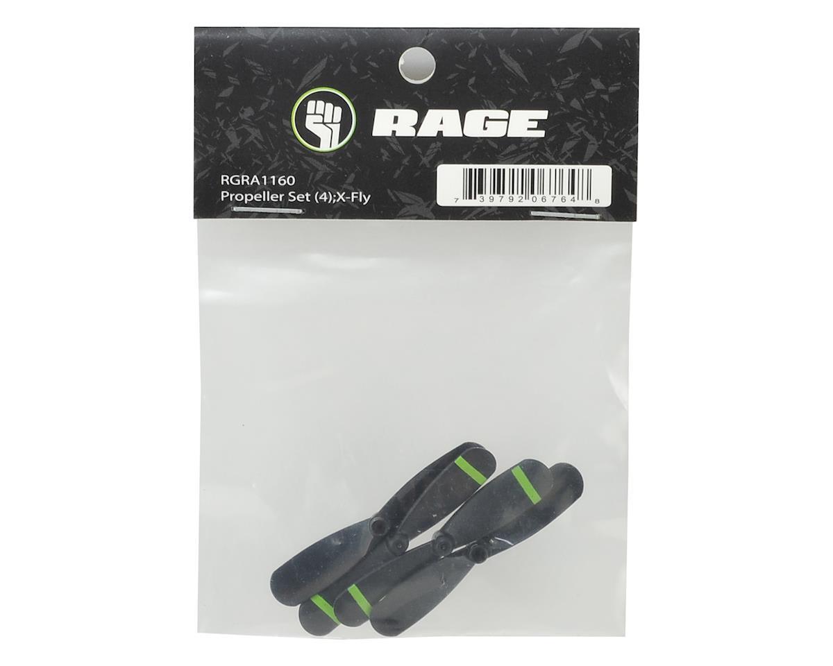 RAGE X-Fly Propeller Set (4)