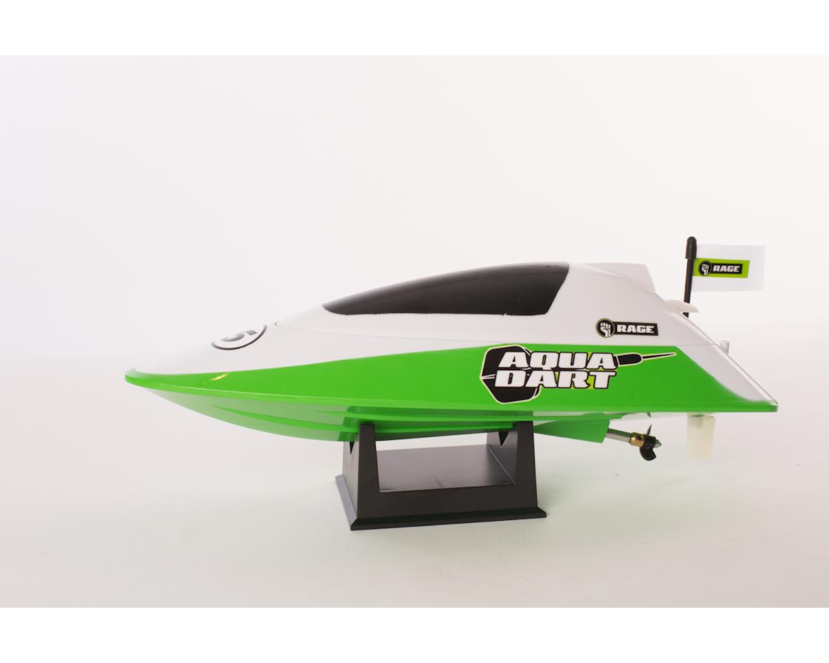 RAGE Aqua Dart RTR Boat-White/Green