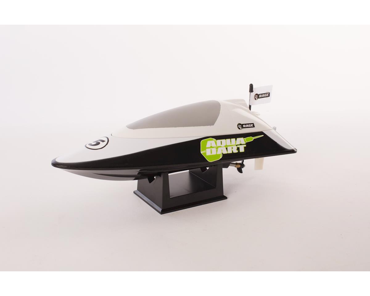 RAGE Aqua Dart RTR Boat-White/Black