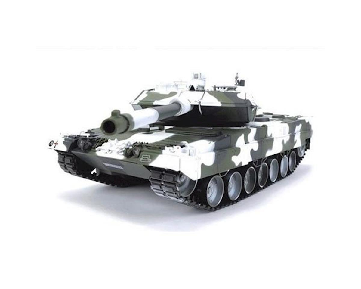 Hobby Engine RHE0804W 1/16 Leopard 2A6 Bullet Shooting Tank, Winter Edition