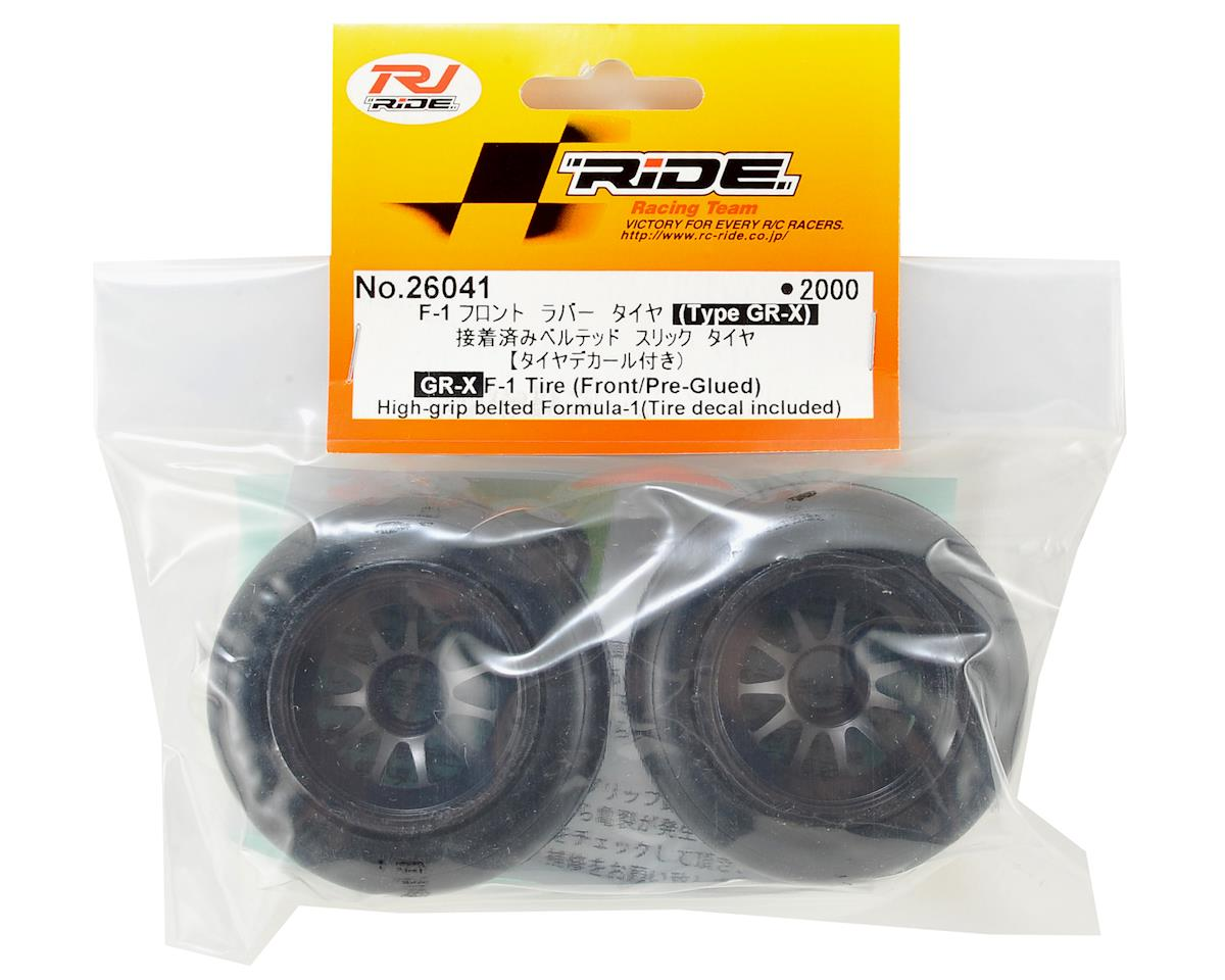 Ride GR-X F-1 Front Pre-Mounted Tire (2)