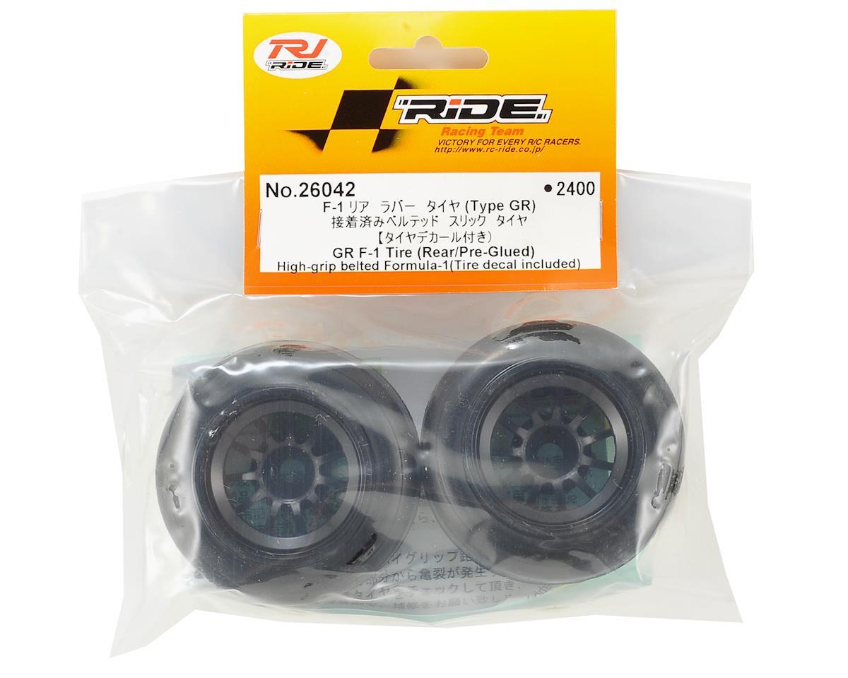 Ride GR F-1 Rear Pre-Mounted Tire (2)