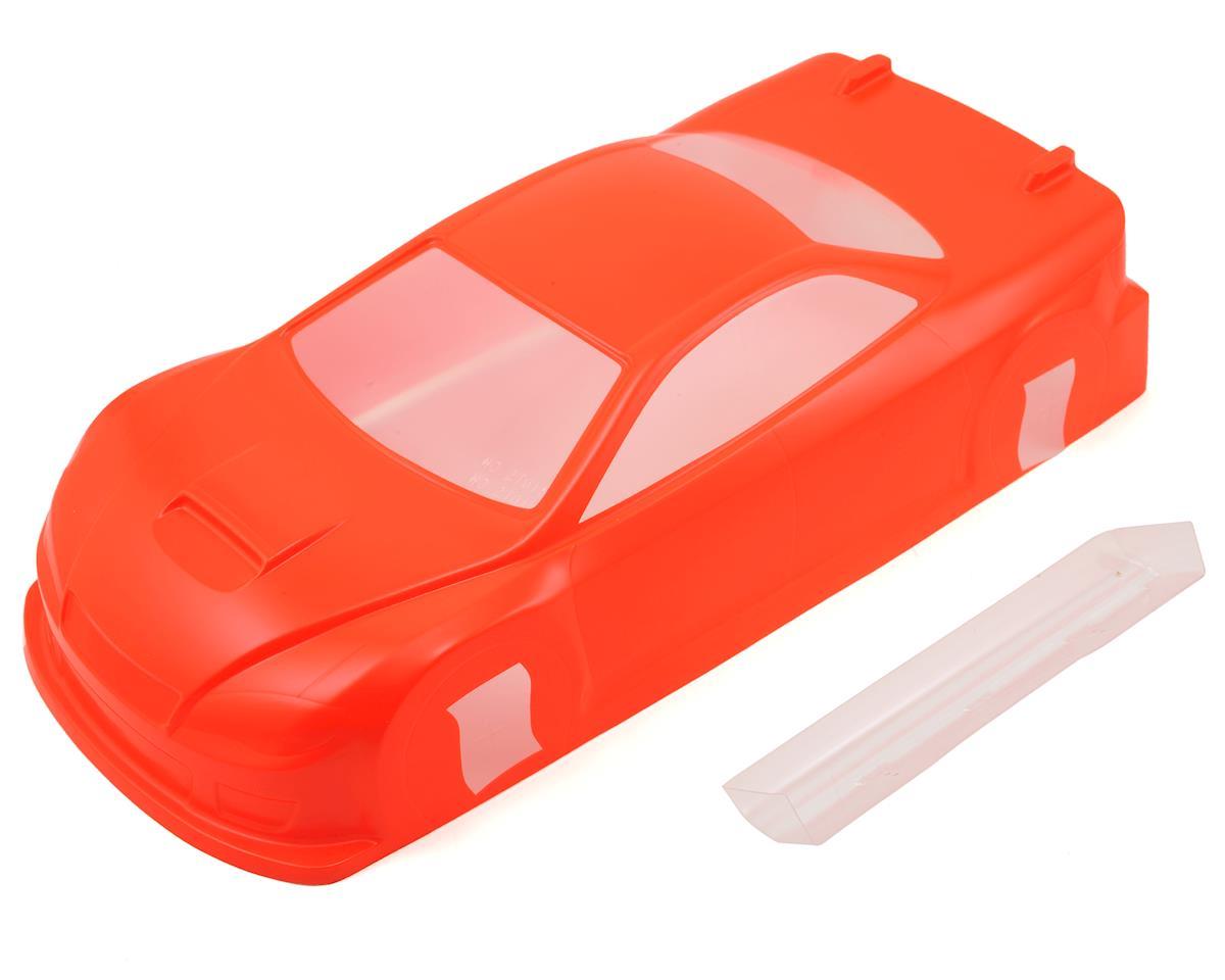 Ride Subaru WRX STI 4 Door Touring Car Body (Orange) (Light Weight)