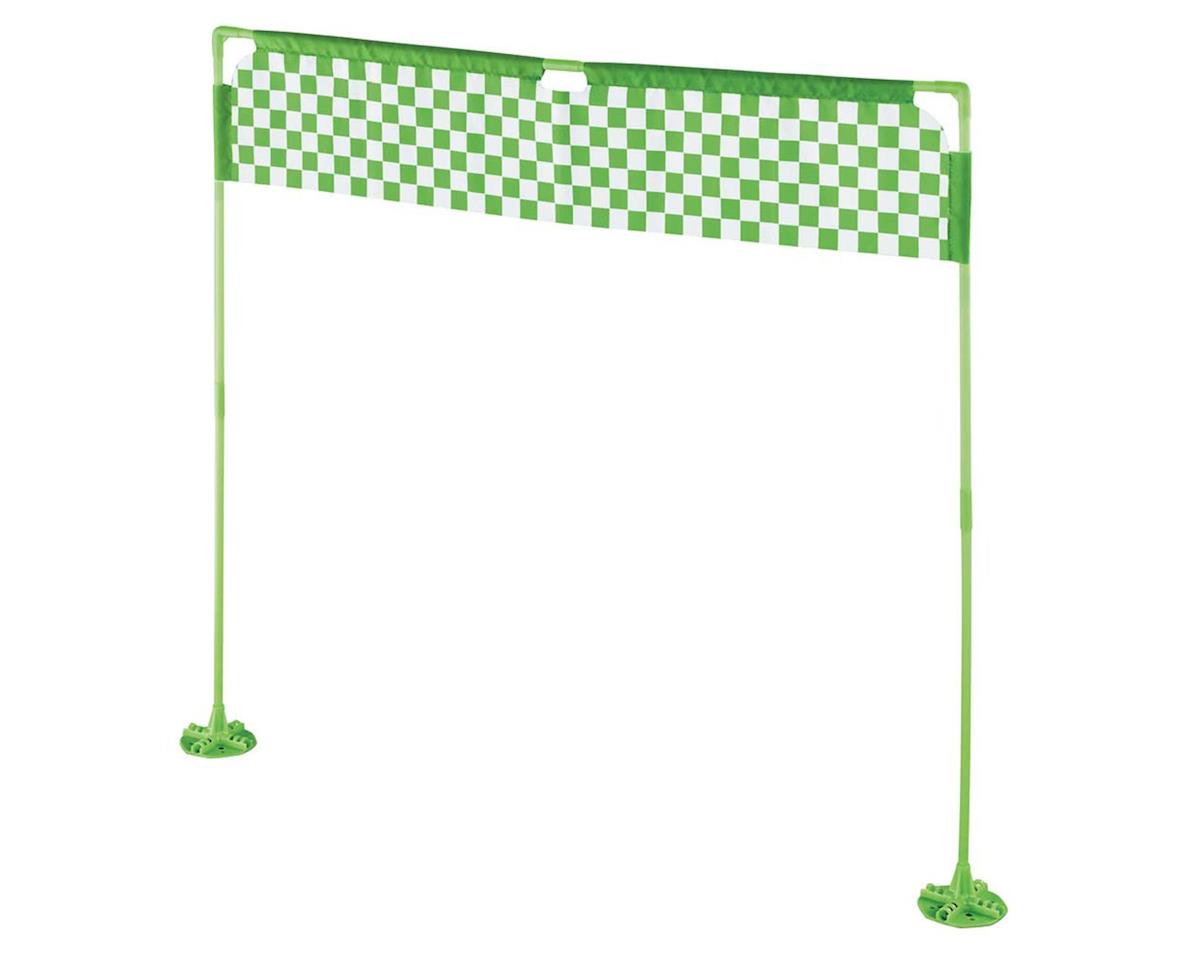 RISE Checkered Flag Race Gate Indoor/Outdoor