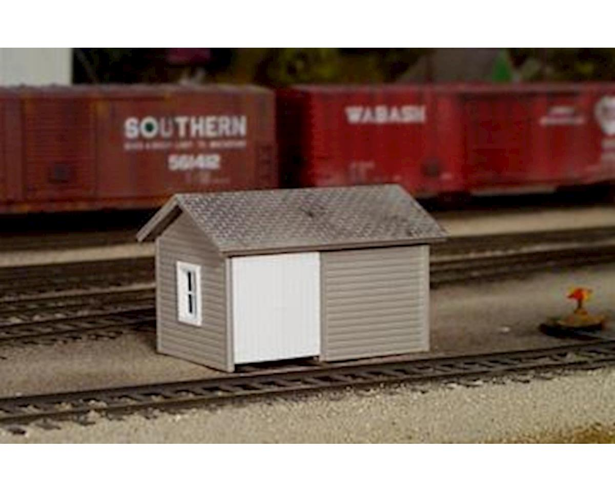 Rix Products HO Handcar Shed Kit