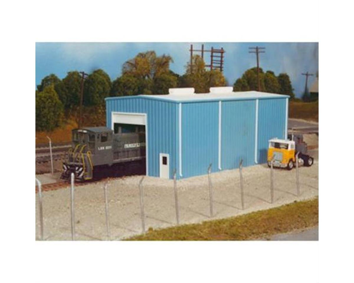 HO KIT Modern Engine House, Small by Rix Products