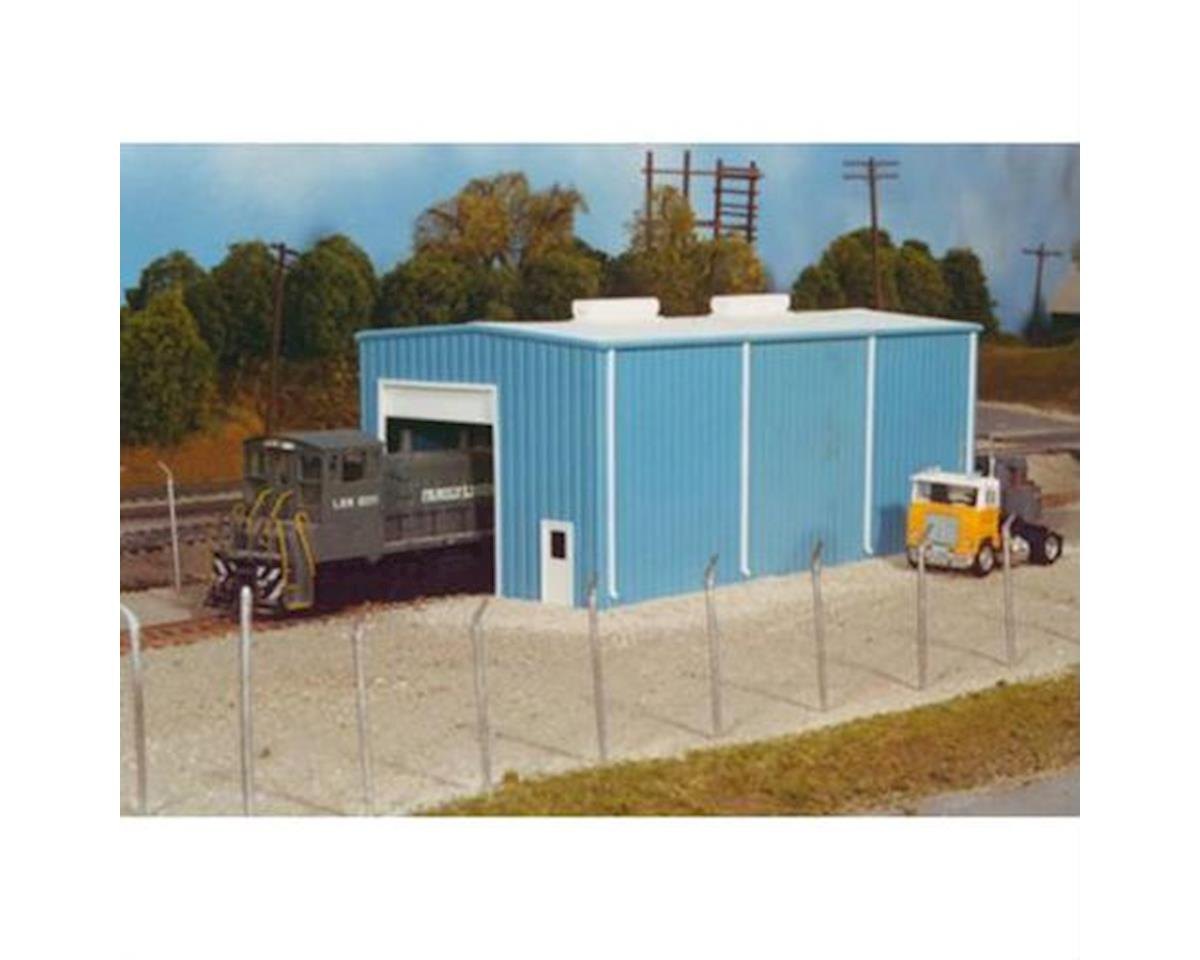 HO Modern Small Engine House Kit by Rix Products