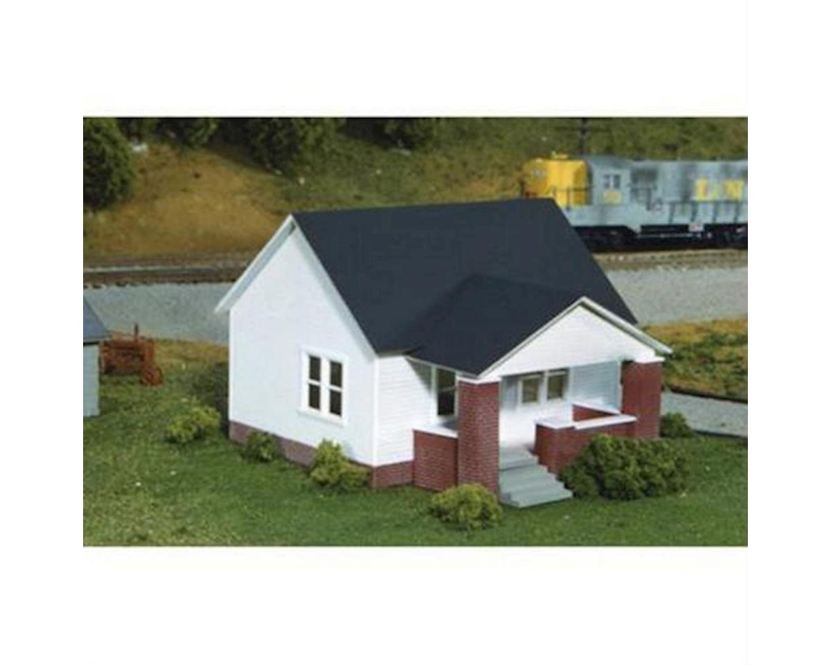 Rix Products HO 1-Story House w/Side Porch