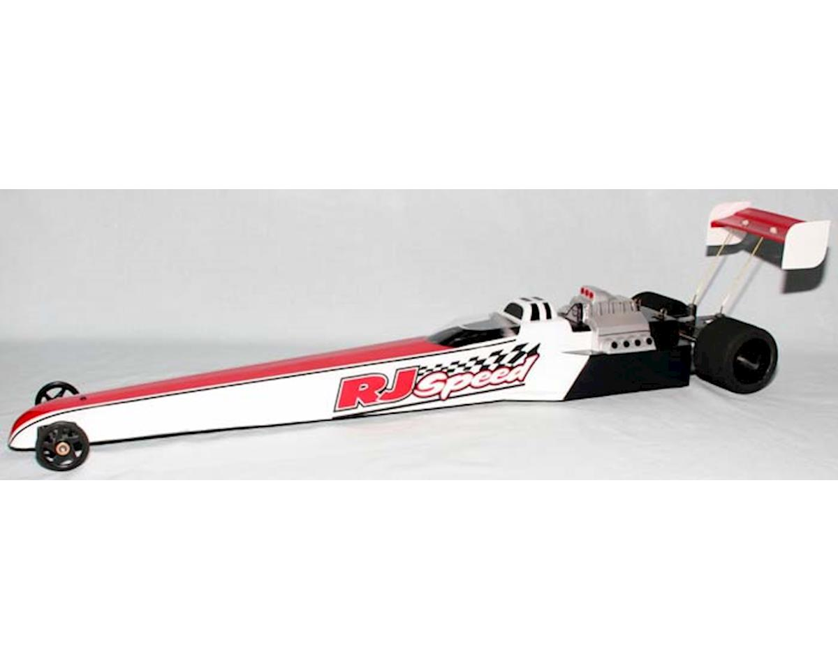 "24"" Dragster Body (Clear) by RJ Speed"