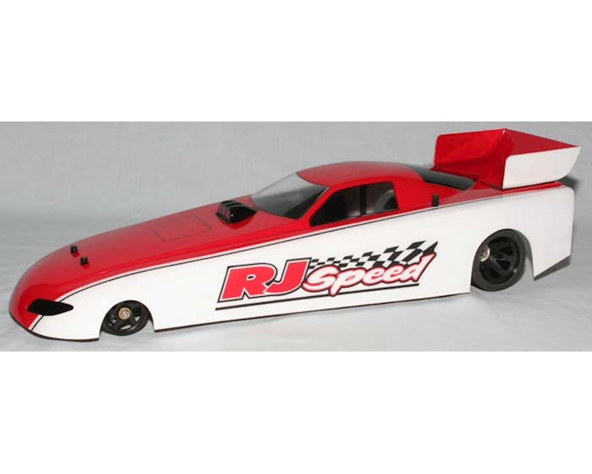 RJ Speed 13  W.B. Funny Car Body w/Wing