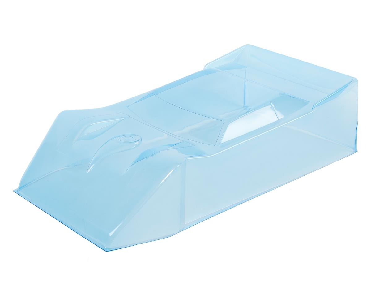 Mega Wedge 1/8 Dirt Oval Late Model Body (Clear) by RJ Speed