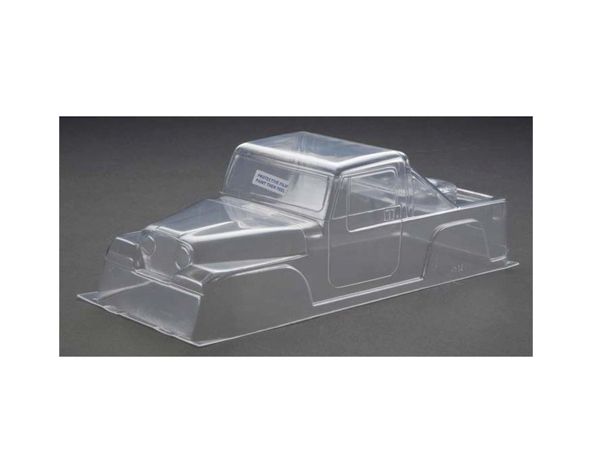 RJ Speed 80's Crawler Pickup Body (Clear)
