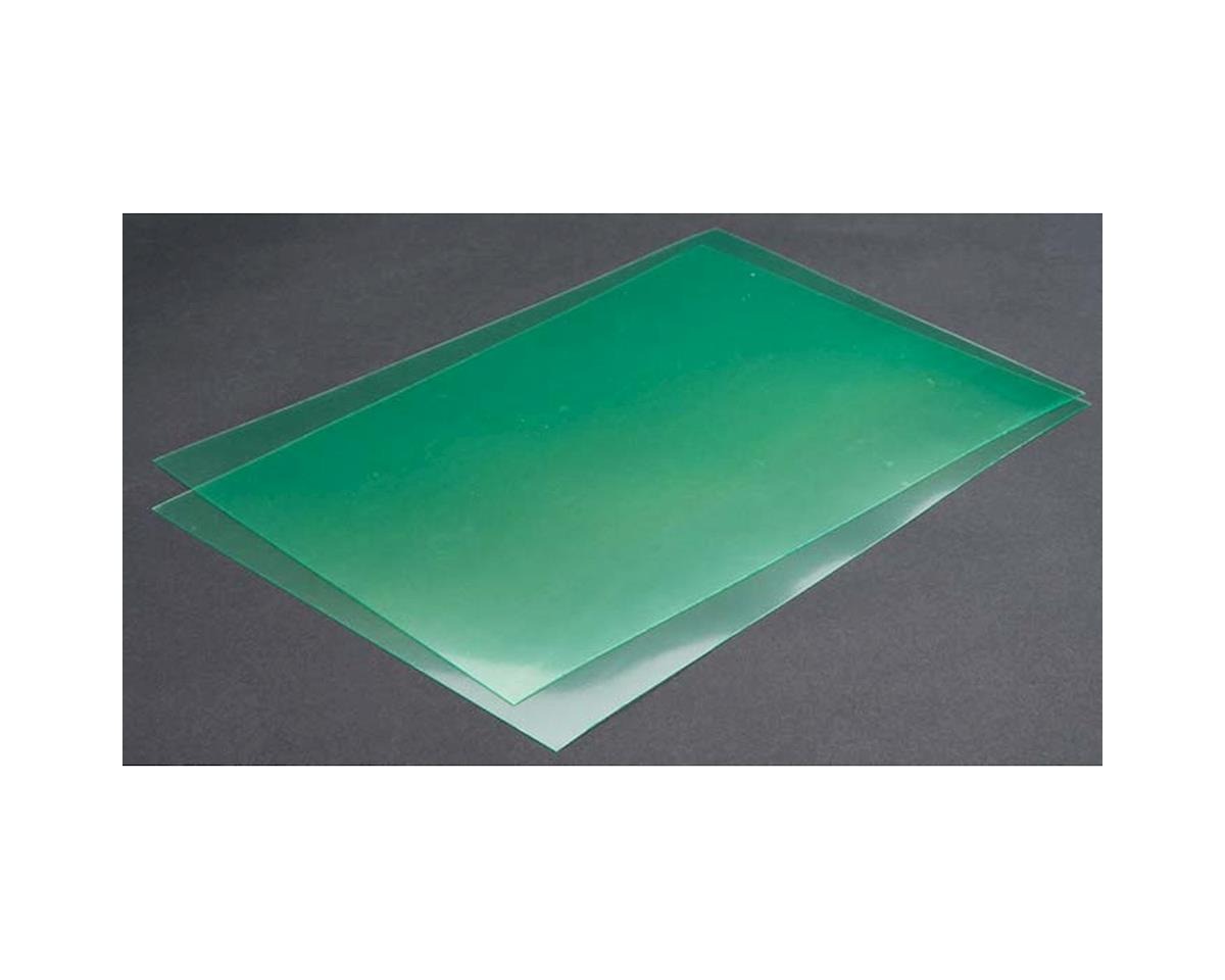 "Lexan Sheet 8x12"" x .010"" 0.25mm (2)"