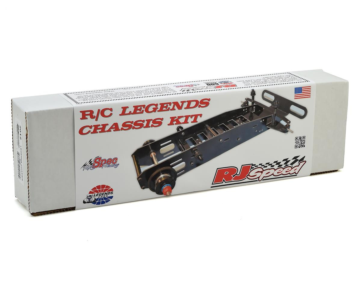 RJ Speed R/C Legends Oval Car Chassis Kit