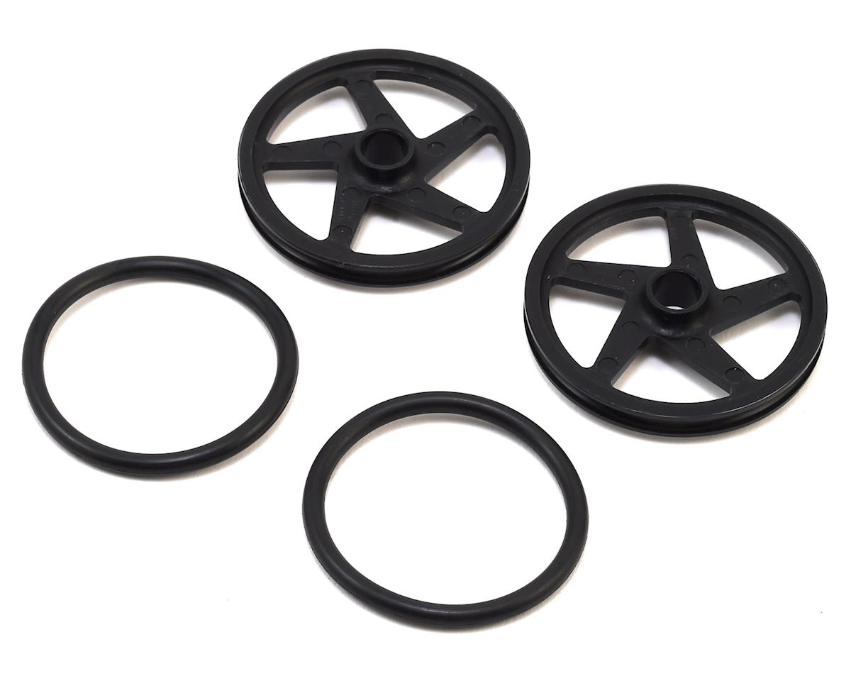 RJ Speed O-Ring Wheels 2  Black (2)