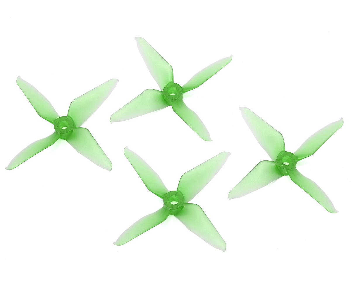 Quad-Blade 3041 Prop (Green) by Racekraft