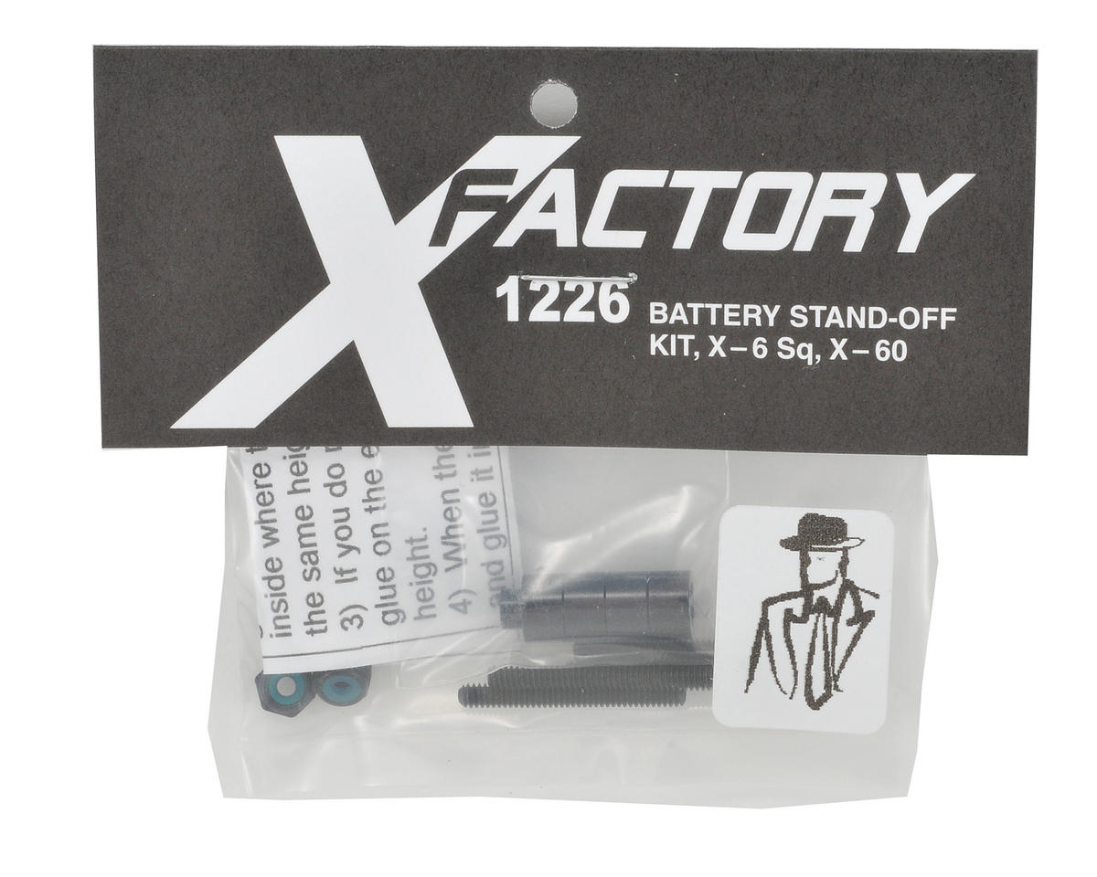 "X Factory ""Real Men Wear Black"" Quick Change Kit w/Standoffs"