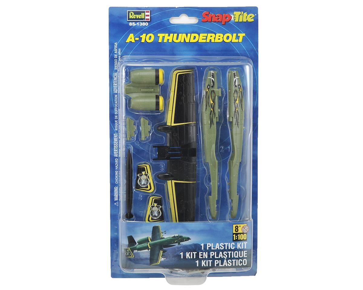 Revell A-10 Thunderbolt 1/100 SnapTite Plastic Model Kit