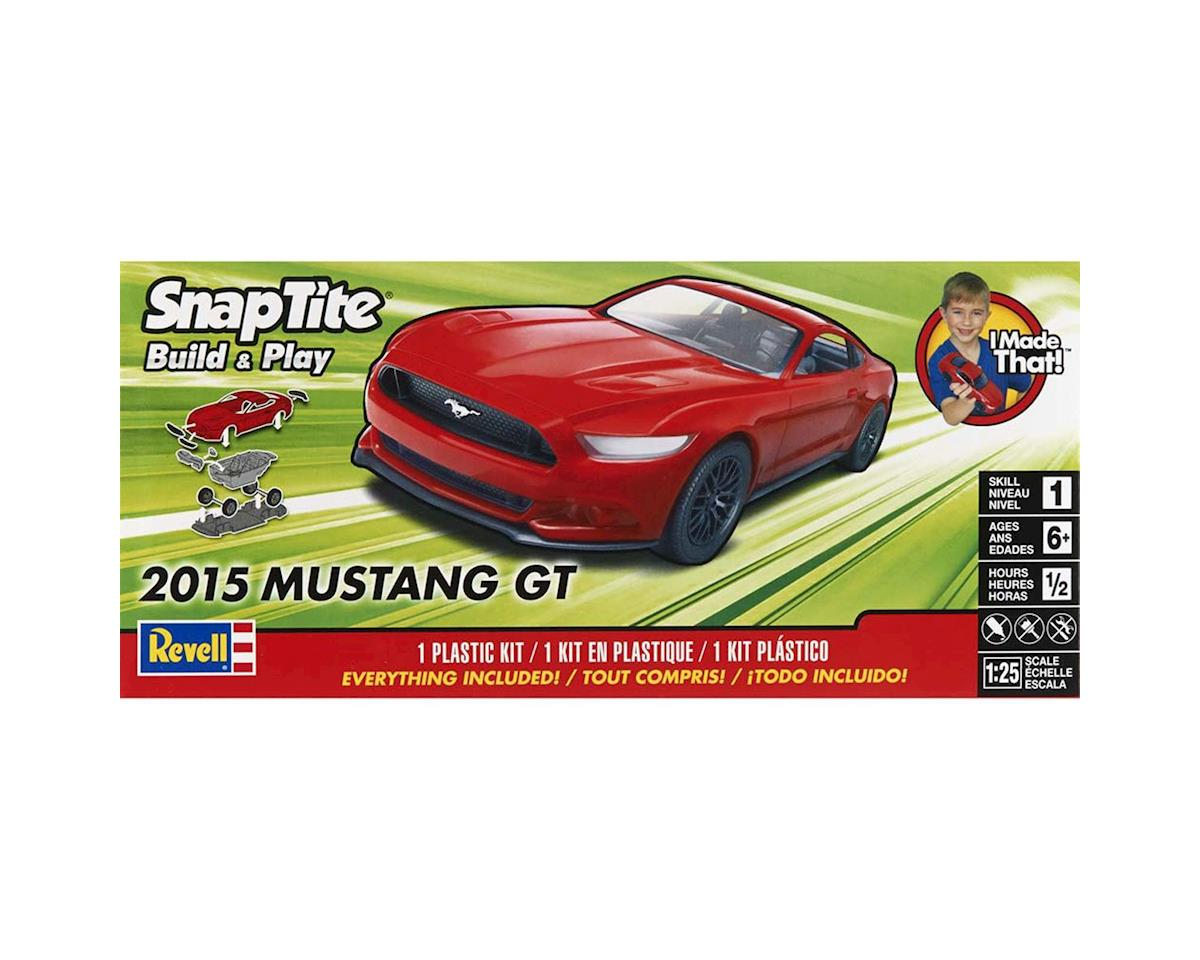 1/25 2015 Mustang Gt Red by Revell