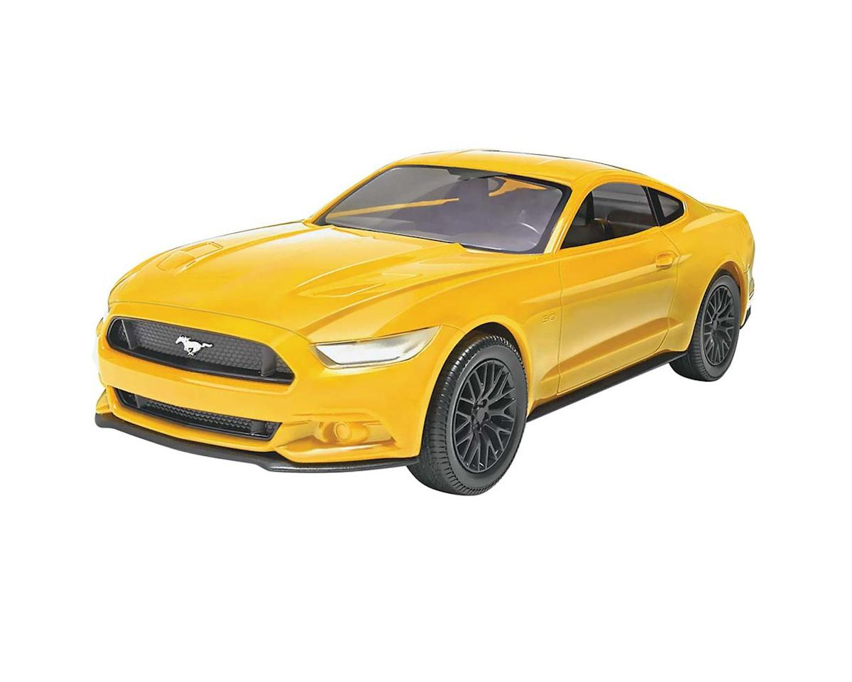 1/25 2015 Mustang Gt Yellow by Revell