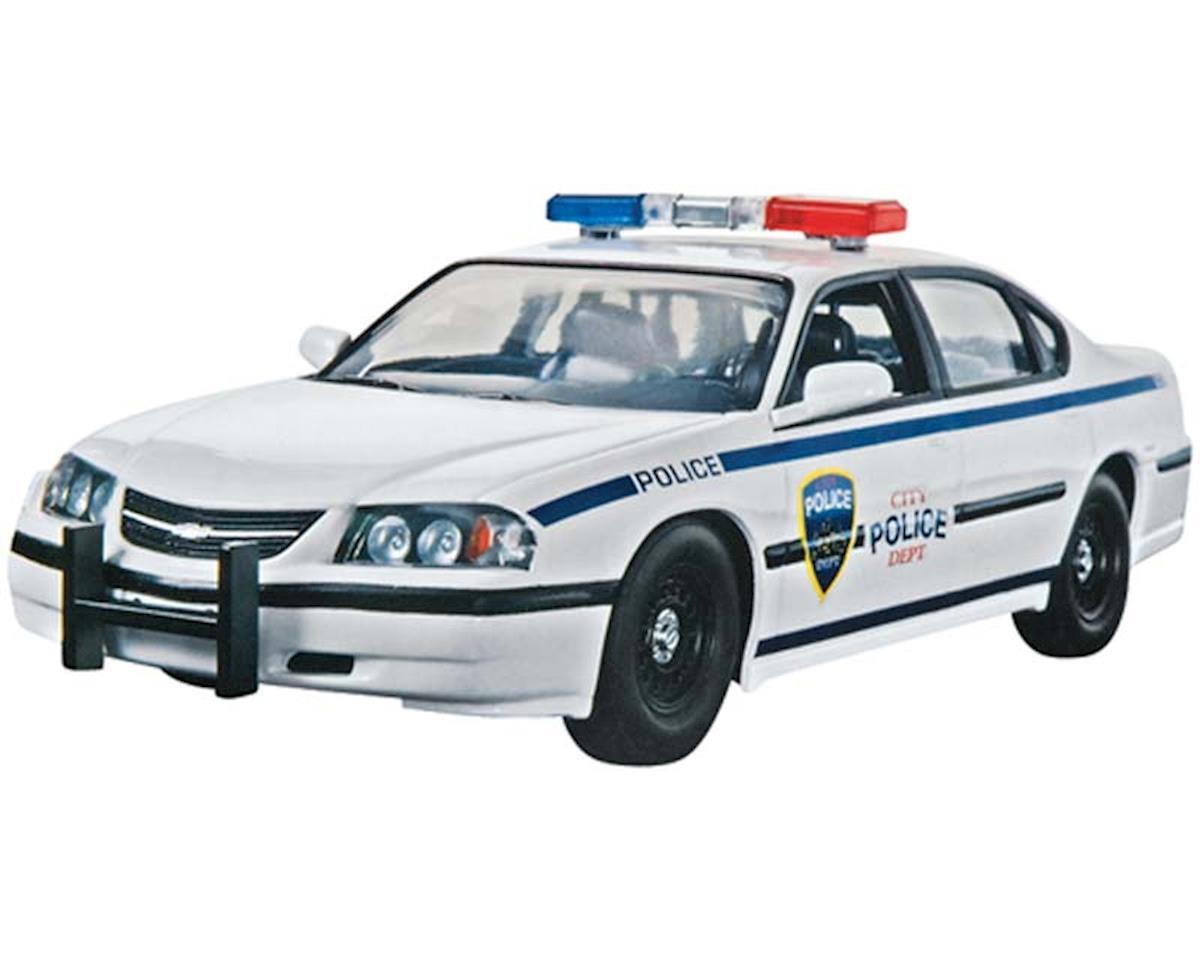 Revell 1/25 2005 Chevy Impala Police Car (Snap)