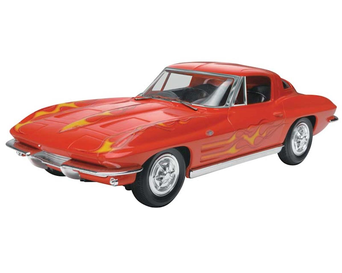 1/25 1963 Corvette Stingray Coupe (Snap) by Revell