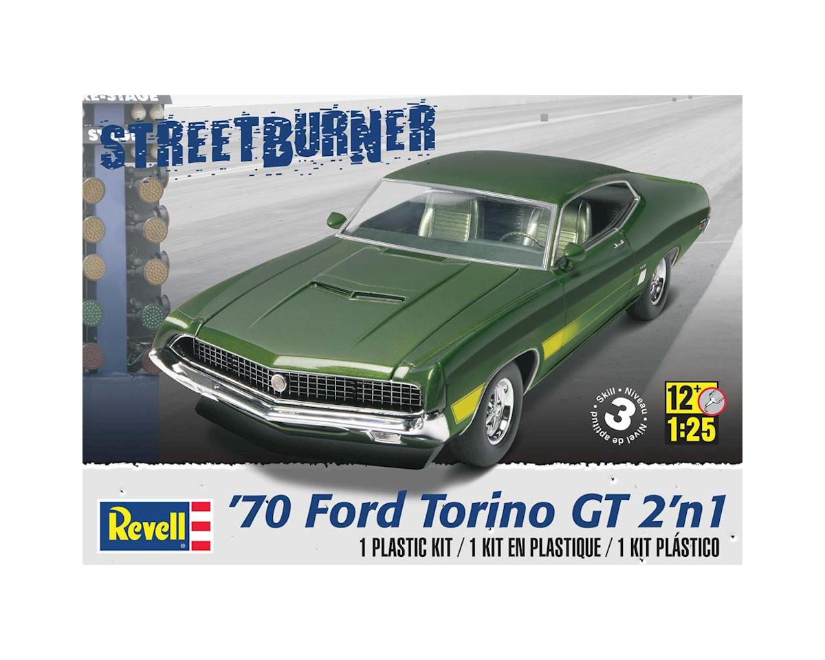 1/25 1970 Ford Torino Gt 2N1 by Revell