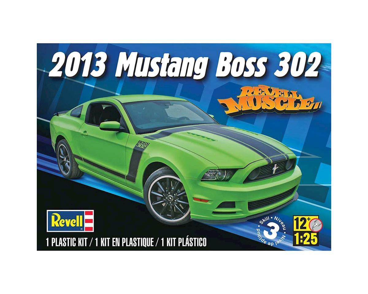 1/25 2013 Mustang Boss 302 by Revell