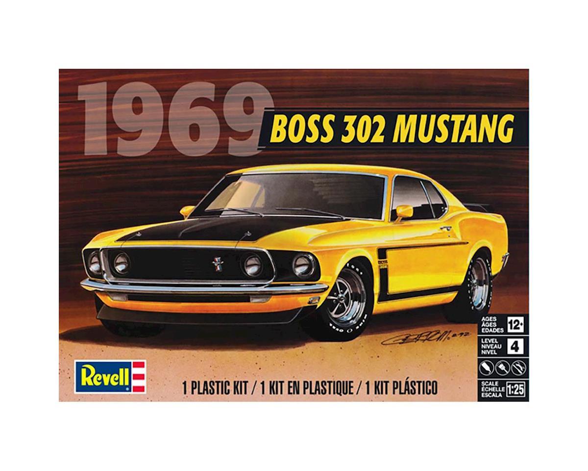 Revell 854313 1/25 1969 Boss 32 Mustang