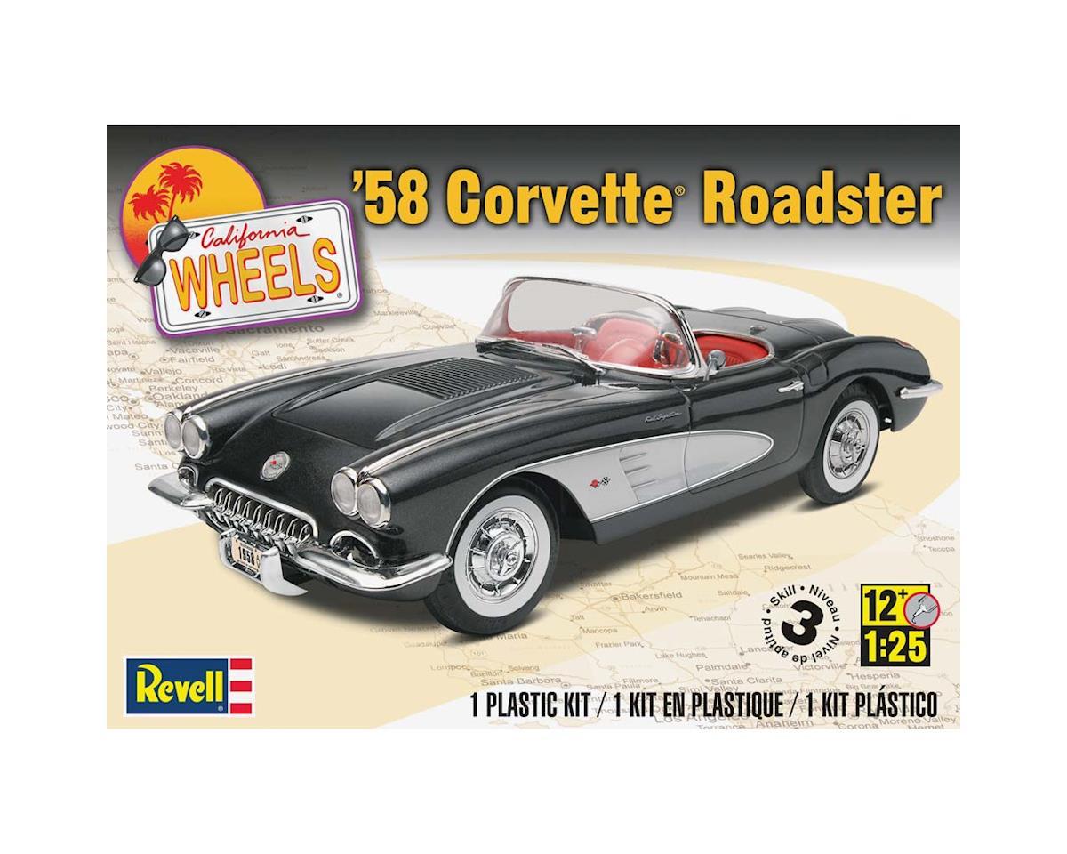 Revell 1/25 '58 Corvette Roadster