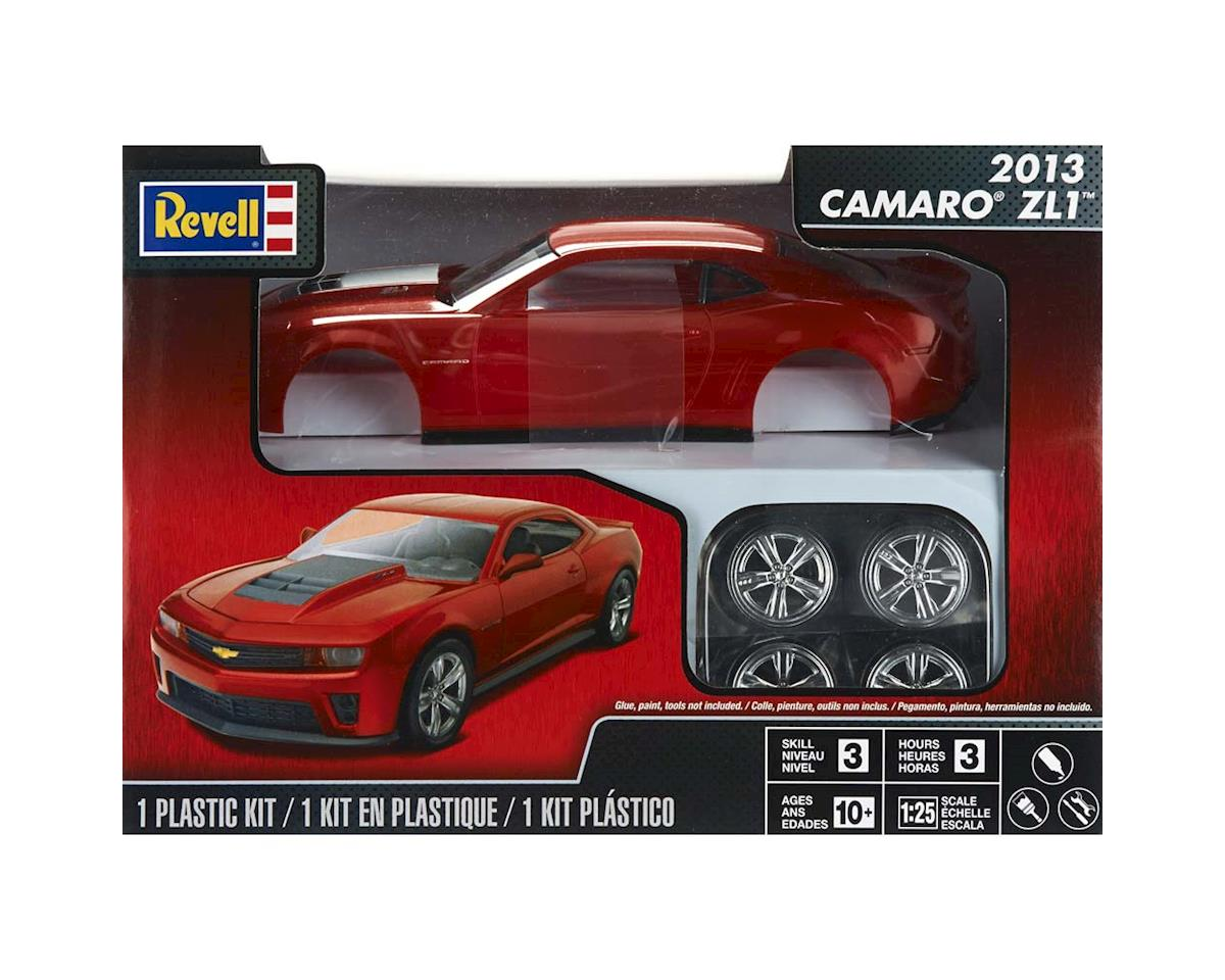 854385 1/25 2013 Camaro ZL1 Red by Revell