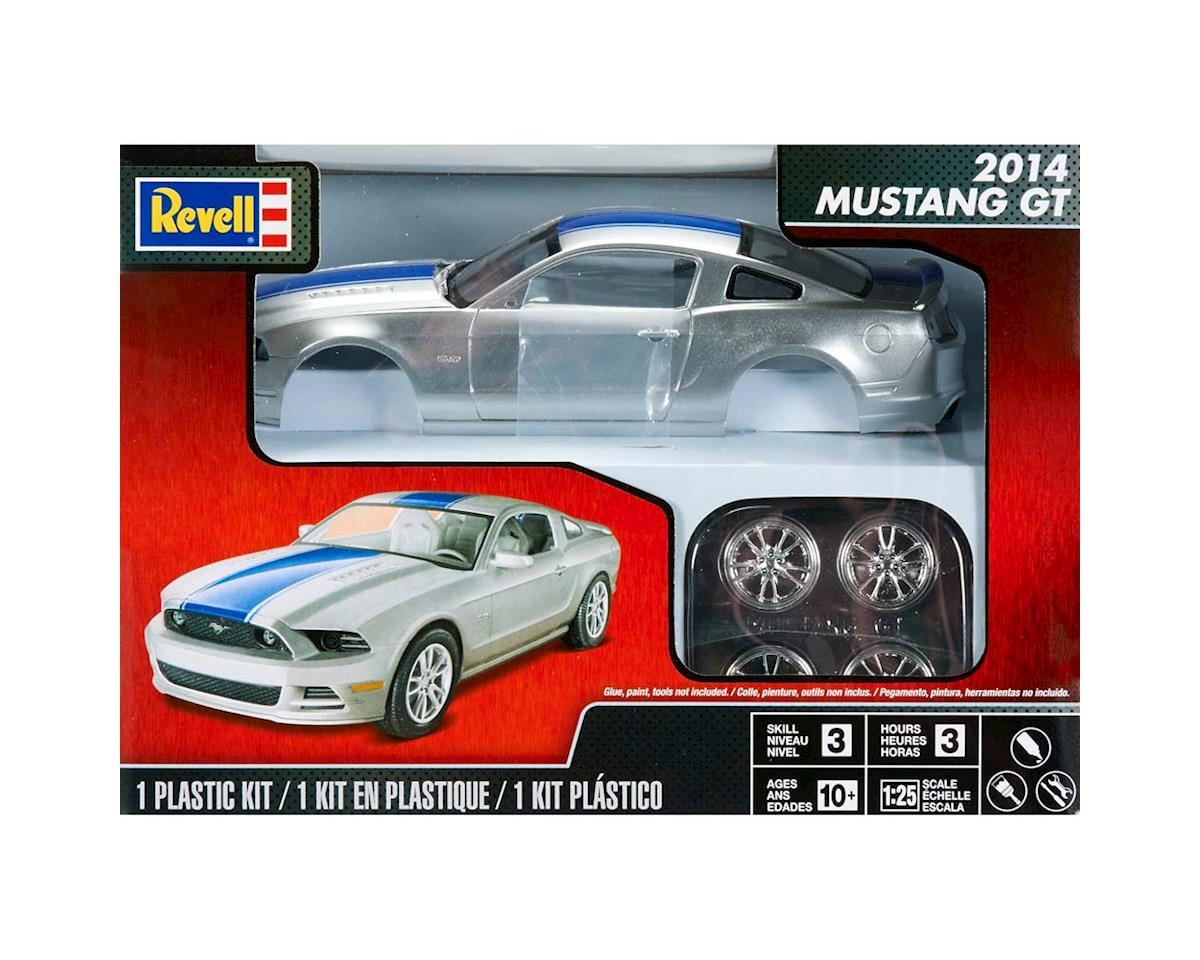 854388 1/25 2014 Mustang GT by Revell