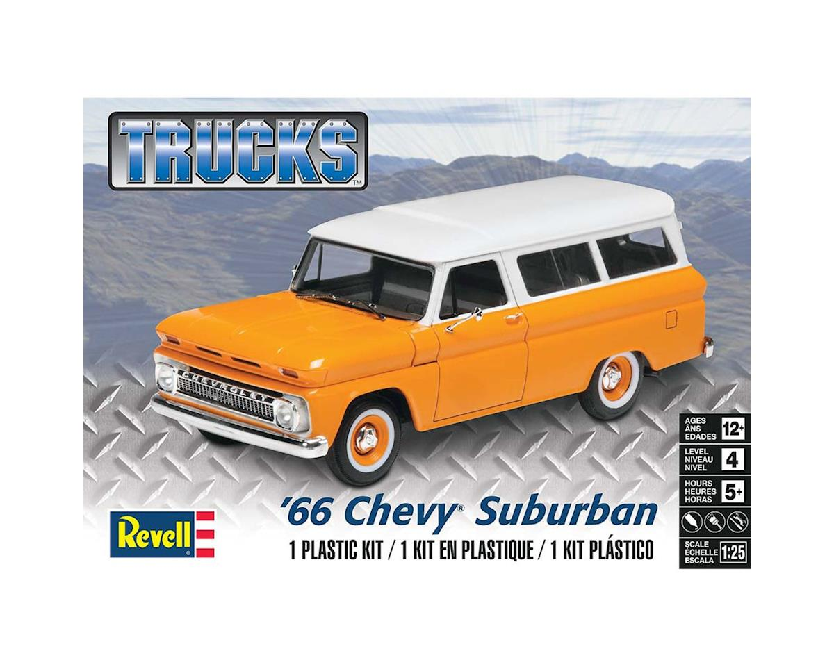 854409 1/25 '66 Chevy Suburban by Revell