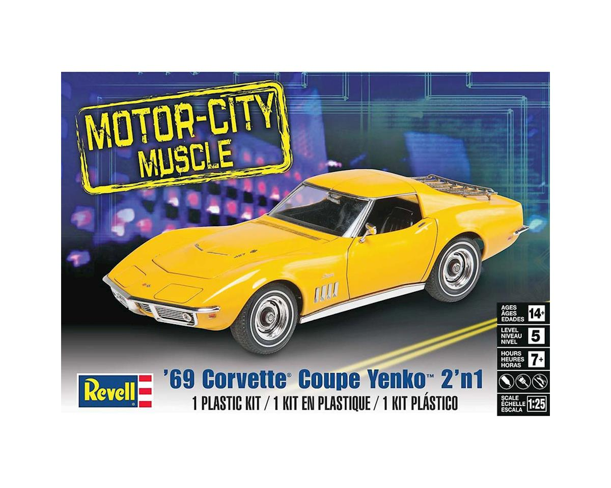 854411 1/25 '69 Corvette Coupe Yenko by Revell