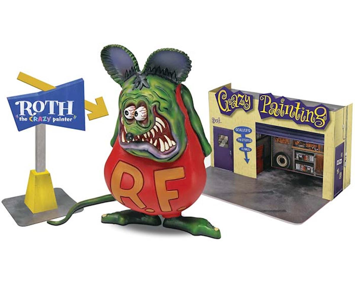 Revell Revell-Monogram  1/25 Rat Fink With Diorama