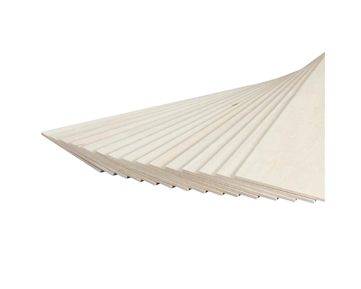 "Revell 887503 Basswood Sheet 1/8 x 4 x 24"" (15)"