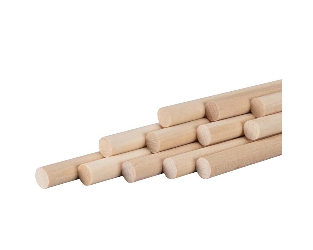 "887776 Wood Dowel 1/2 x 36"" (12) by Revell"