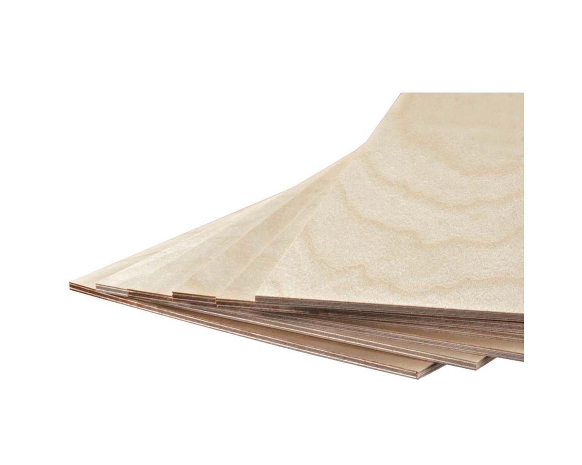 "Revell 887852 Model Birch Plywood 1/8 x 6 x 12"" (6)"