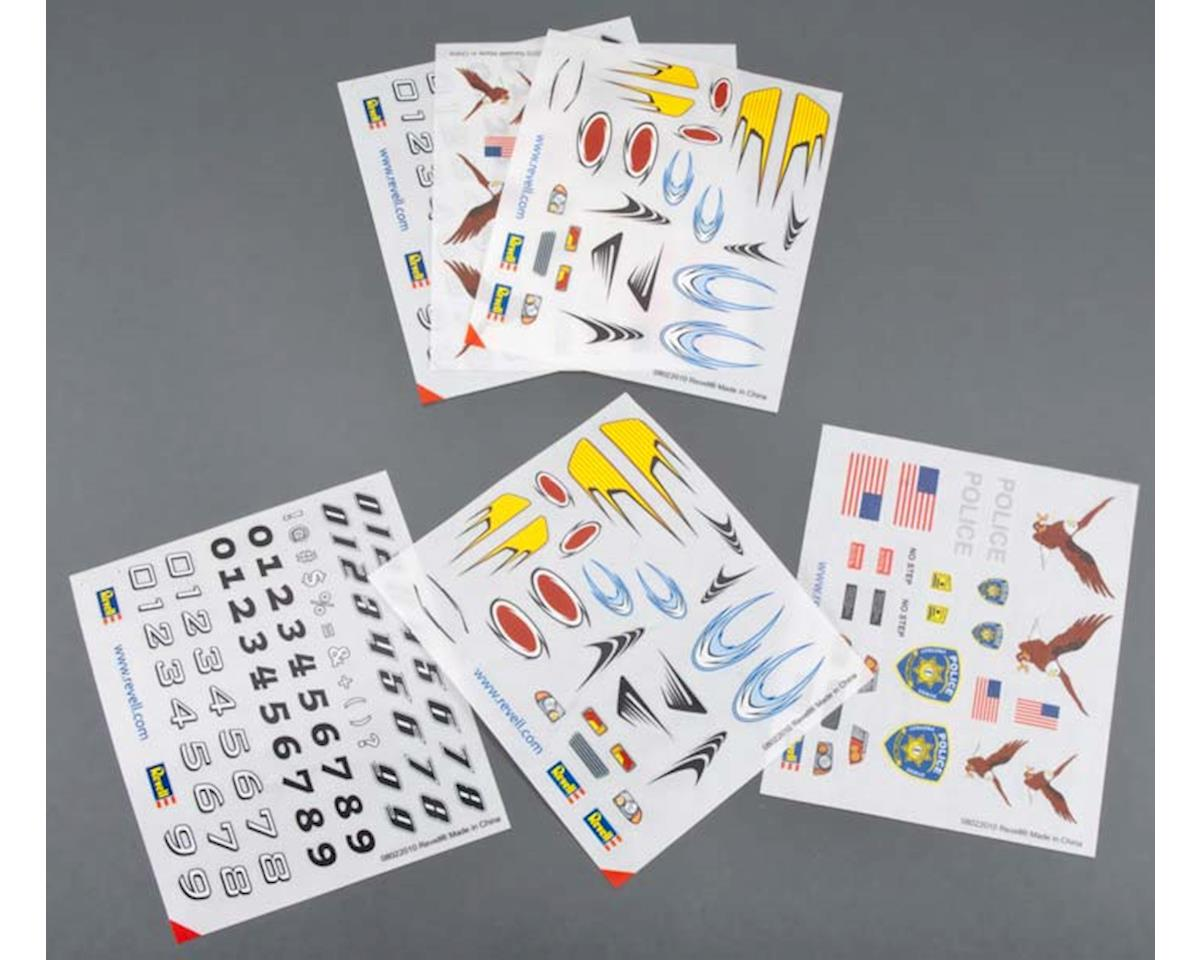 Revell Peel & Stick Decal H-J Assortment #3 (6)