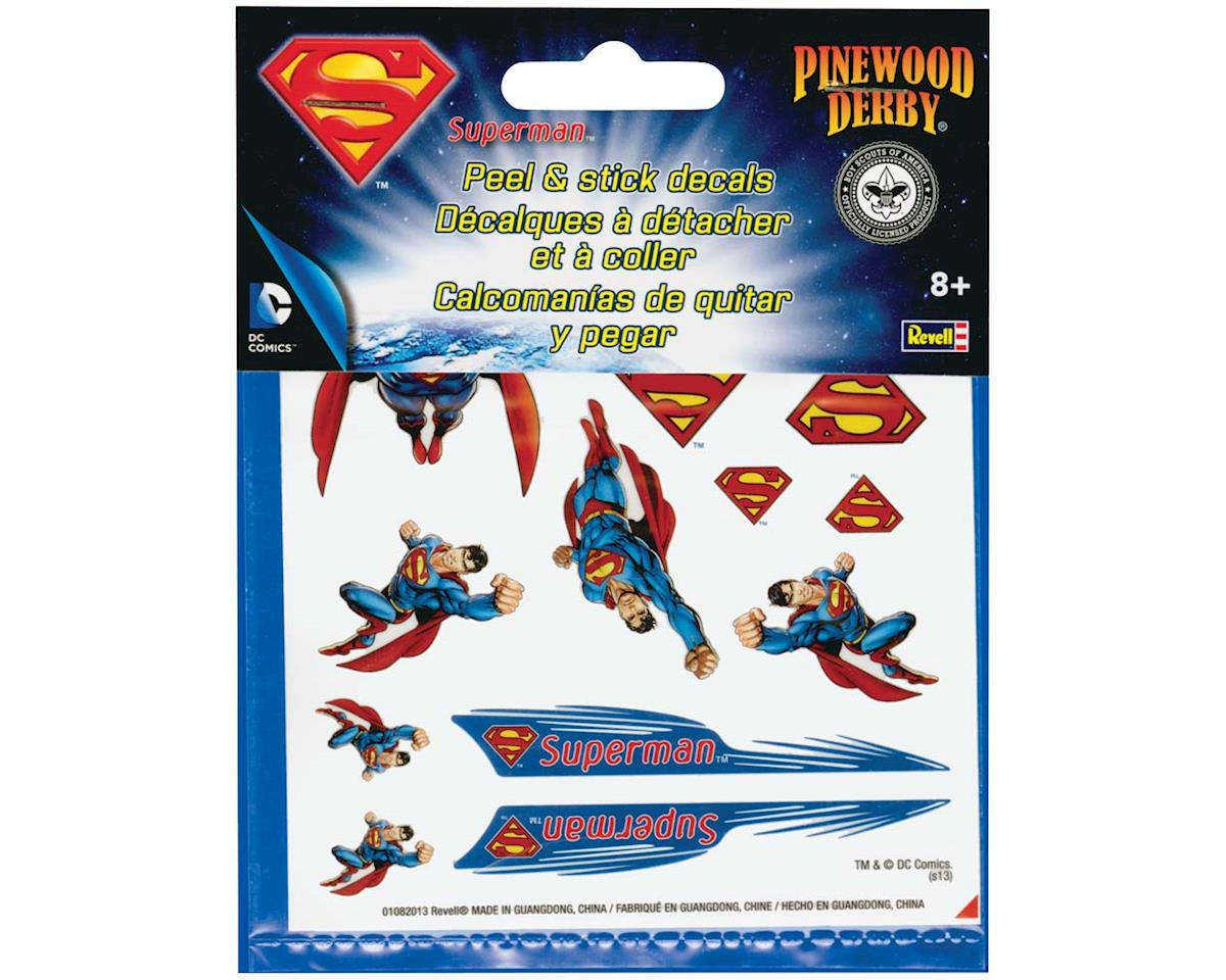 Revell Superman Peel & Stick Decal Sheet
