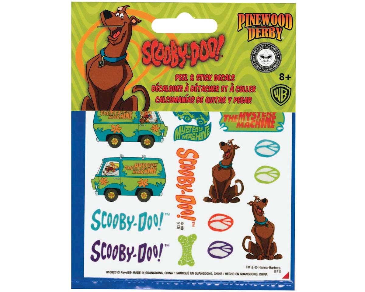 Scooby-Doo Peel & Stick Decal Sheet by Revell