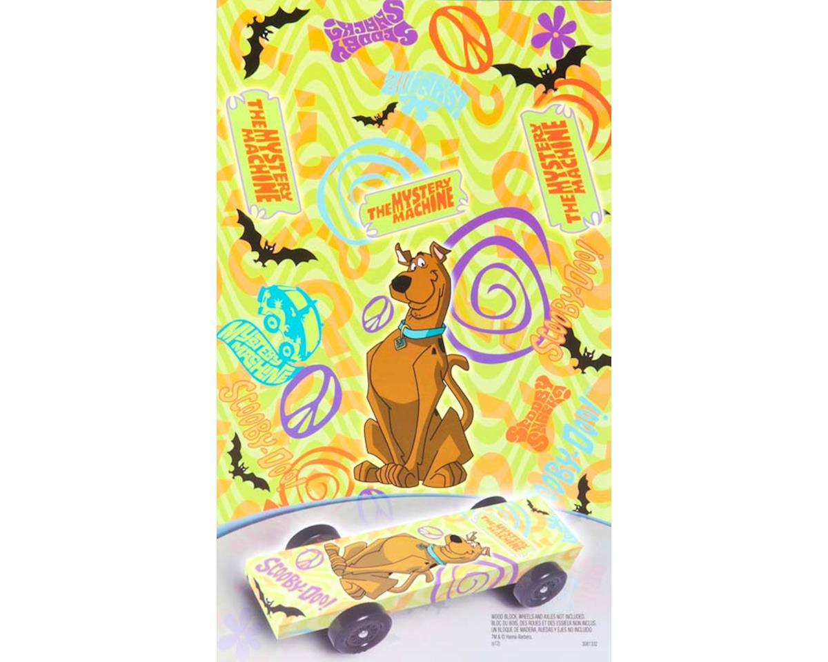 Revell Scooby-Doo Car Wrap Decal