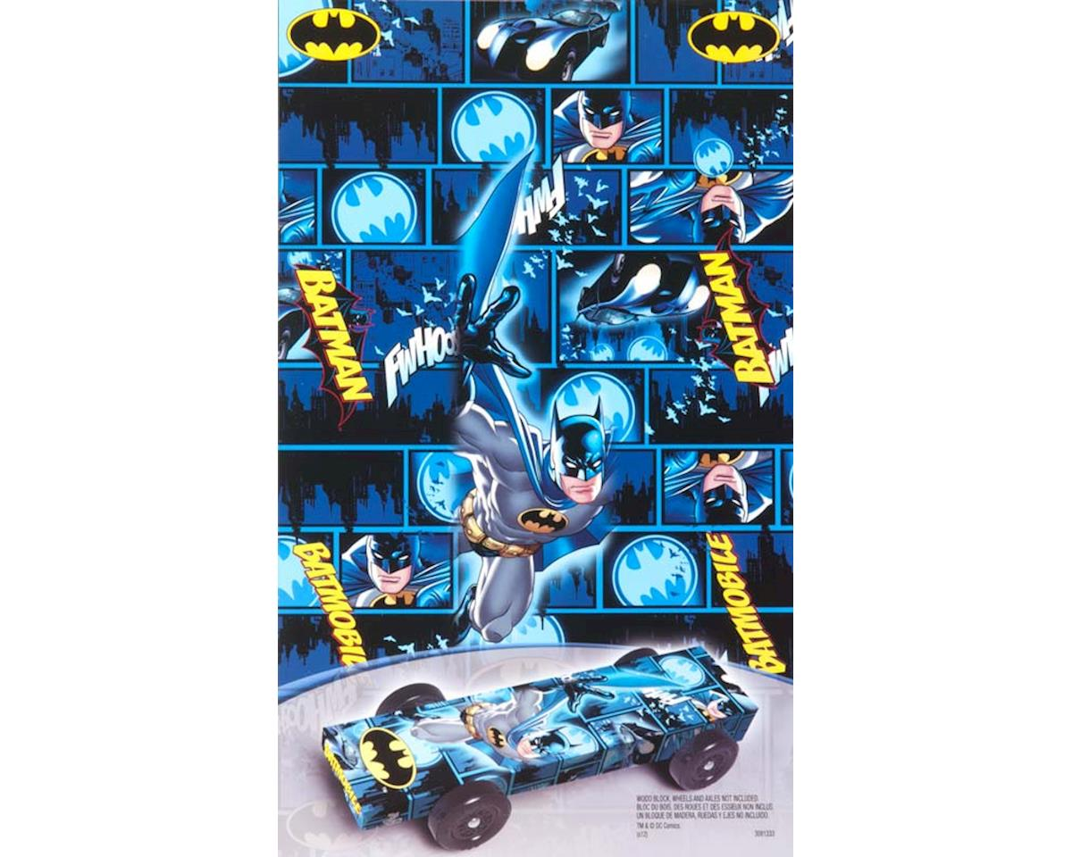 Revell Batman Car Wrap Decal Pinewood Derby
