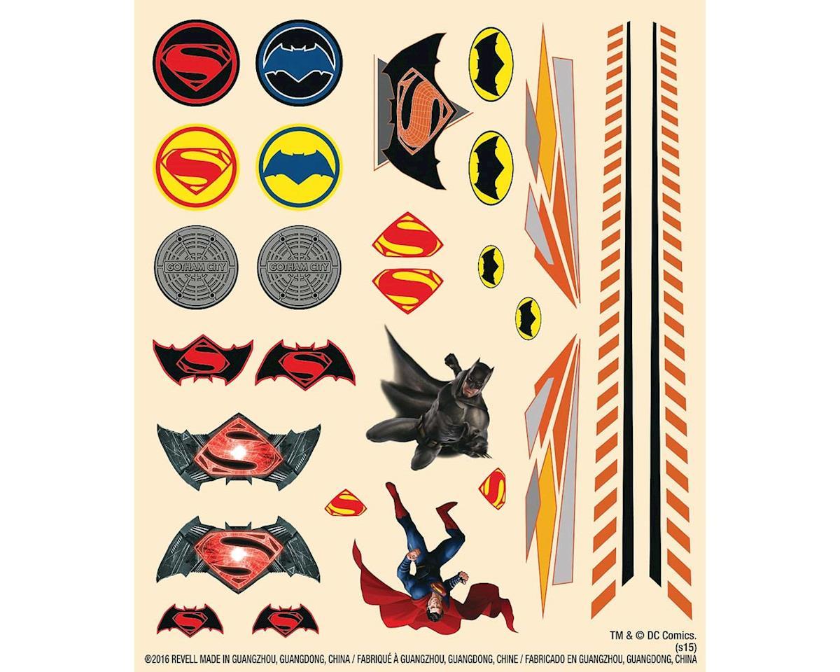 Revell Batman Dawn of Justice Peel/Stick Decal Sheet