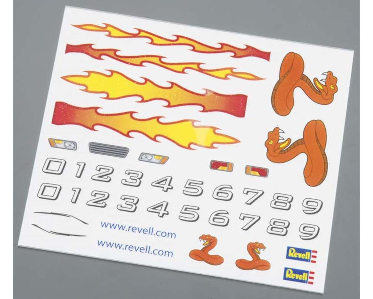 Revell Dry Transfer Decal A Pinewood Derby