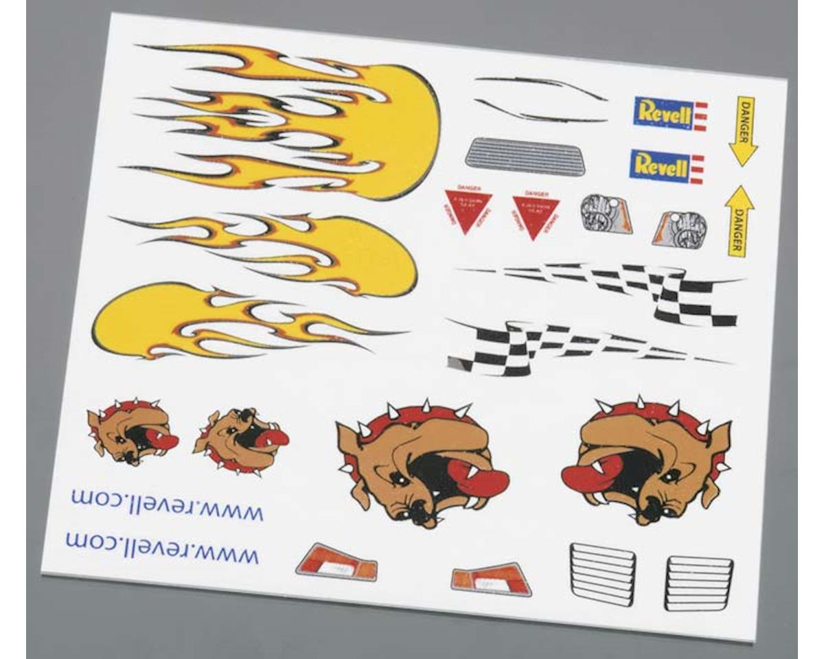 Revell Dry Transfer Decal B Pinewood Derby
