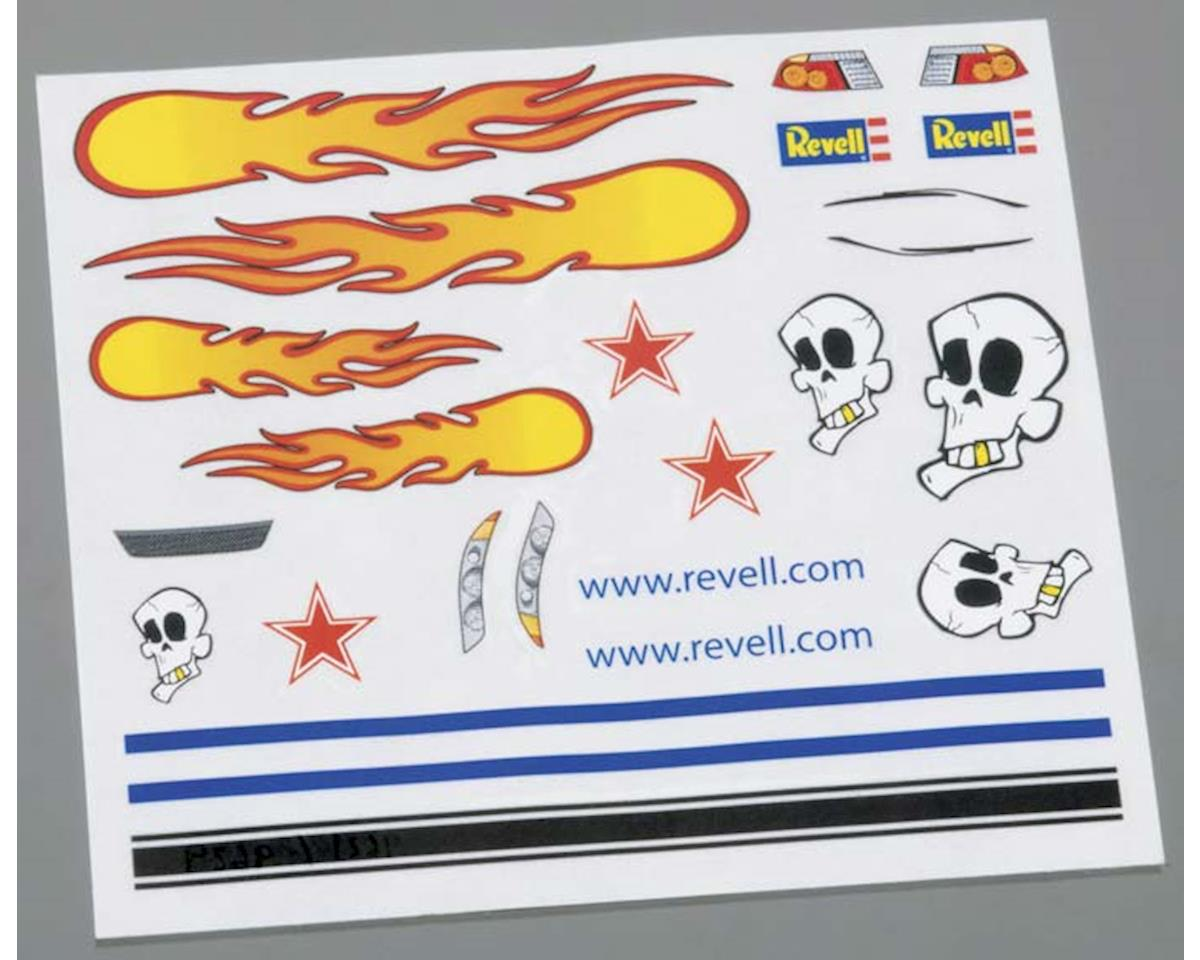 Revell Dry Transfer Decal C Pinewood Derby